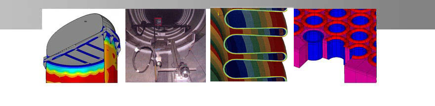 Design/Analysis of Chemical Reactor, Weld Overlay, Bellows FEA and Tube to Tubesheet