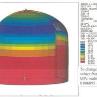 FEA Results - Refractory Lined Autoclave