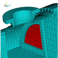 FEA of Feedwater Heater to Section VIII Code