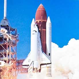 Space Shuttle Main Engine Nozzles