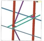 FEA Model of Rack Structure
