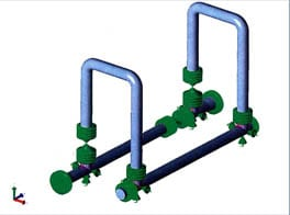 FEA of Piping System